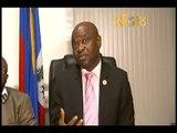 Haïti.- Ministère de l'Intérieur et des Collectivités Territoriales / Conférence de presse