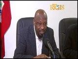 Ministère de l'Education Nationale et de la Formation Professionnelle (MENFP) / Conférence de presse