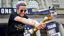 New York parade: US women's football team celebrate