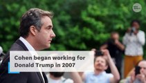 Michael Cohen says Trump paid hush money to mistresses to help his presidential campaign