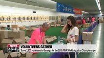 Some 2,800 volunteers in Gwangju for the 2019 FINA World Aquatics Championships