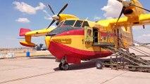 Avión anfibio modelo Canadair de 6.000 litros de capacidad