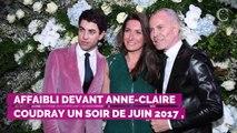 Anne-Claire Coudray évoque la dernière interview que Johnny Ha...