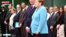 Angela Merkel prise de violents tremblements pour la troisième fois (Vidéo)