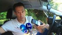 Dans la voiture de Julien Jurdie, directeur sportif d'AG2R la Mondiale