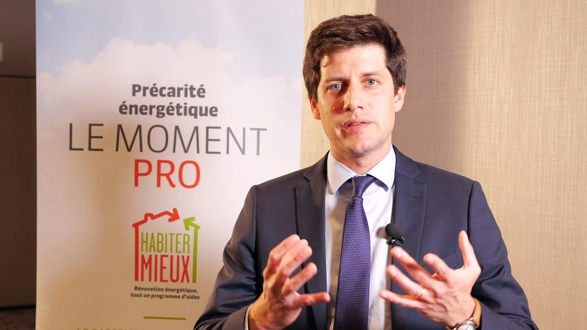 Moment Pro Habiter Mieux - Interview de Julien Denormandie