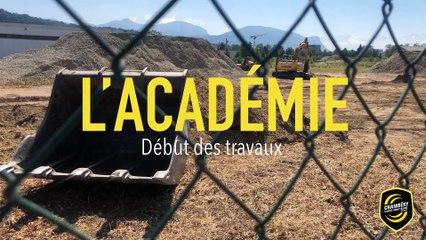 L'Académie - Début des travaux