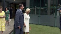 Duchess of Cornwall enjoys a day out at Wimbledon