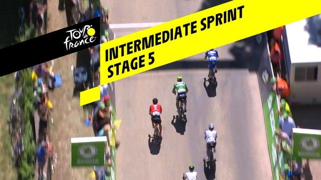 Sprint intermédiaire / Intermediate Sprint - Étape 5 / Stage 5 - Tour de France 2019
