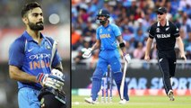 ICC Cricket World Cup 2019,IND V NZ: Virat Kohli Wrost Record In World Cup Semi Finals !    Oneindia