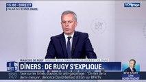 """François de Rugy sur ses dîners fastueux aux frais de l'État: """"Je comprends que cela puisse interpeller les Français"""""""