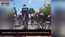 Tour de France 2019 : La chute spectaculaire de Pierre-Luc Périchon (Vidéo)