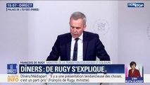 """François de Rugy dénonce une """"présentation tendancieuse"""" de l'article de Mediapart sur ses dîners"""