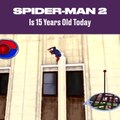 Spider-Man 2 Empire State Building Jump Throwback