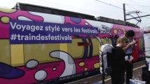 La SNCB amène les festivaliers à Dour