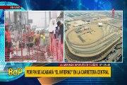 Carretera Central: reabrirán tramo clausurado por obras de la Línea 2 del Metro de Lima
