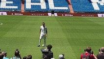 El Real Madrid presenta a Éder Militão
