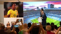Zidane's first signing Militao presented as Real Madrid player