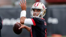 Does a healthy Jimmy Garoppolo make 49ers contenders in the NFC?