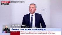 François de Rugy : Des luxueux dîners aux frais de l'État ? Il s'explique (Vidéo)