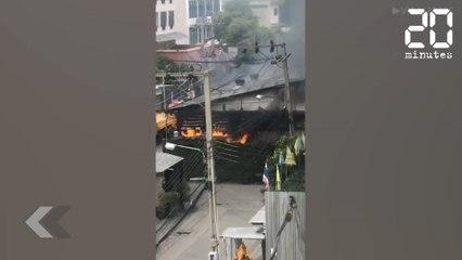 Une usine part en fumée - Le Rewind du Mercredi 10 Juillet 2019