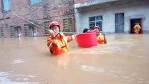 En Chine, plus de 25 000 personnes ont été évacuées à cause des inondations