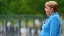 Angela Merkel prise de tremblements pour la troisième fois