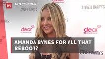 Is Amanda Bynes Going Back To Nickelodeon