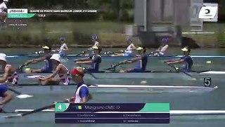 Championnat de France J16 Bateaux longs Libourne 2019 - Finale du quatre sans barreur hommes-J16H4-