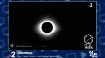 Spectaculaire éclipse totale de soleil dans le ciel du Chili
