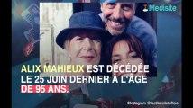 """""""Plus belle la vie"""" : mort d'Alix Mahieux, doyenne de la série"""
