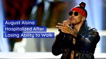 August Alsina Is Having Health Issues