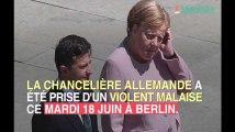 Angela Merkel prise de violents tremblements en pleine cérémonie