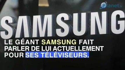 Des télévisieurs Samsung victimes de virus