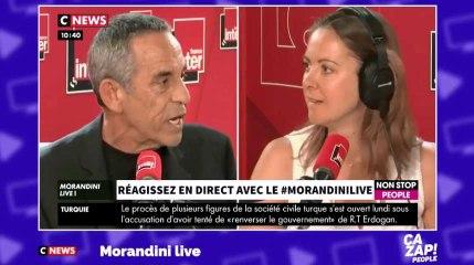 Thierry Ardisson règle ses comptes avec Charline Vanhoenacker en direct