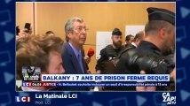 Sept ans de prison ferme requis contre Patrick Balkany