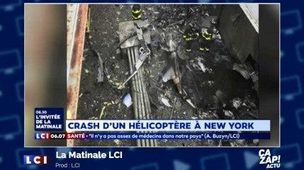 Crash d'un hélicoptère à New York