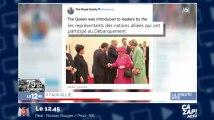 Grosse gaffe sur le compte Twitter de la Reine d'Angleterre !