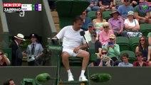 Wimbledon 2019 : Henri Leconte échange sa place avec l'arbitre en plein match (Vidéo)
