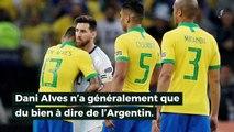 Dani Alves s'en prend à Messi !