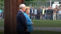 Merkel seen shaking in public for third time in a month