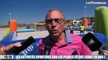 Le 18:18 - Marseille : kayak, hip-hop, trampoline... C'est parti pour les activités sportives sur les plages