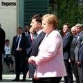 Angela Merkel à nouveau prise de tremblements