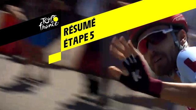 Résumé - Étape 5 - Tour de France 2019