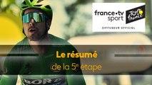 Peter Sagan en patron : le grand résumé de la 5e étape
