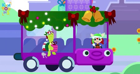 Wheels On The Bus With Janet - Plus Lots More Educational Nursery Rhymes Compilation | KinToons