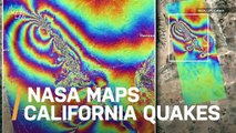 NASA Maps California Earthquake Surface Changes from Space