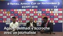 CAN-2019/Algérie: Belmadi agacé en conférence de presse