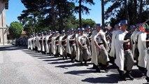 Cérémonie de passation de commandement au 1er régiment de Spahis à Valence