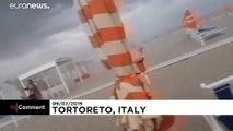 Maltempo in Italia: tornadi e temporali sulle coste